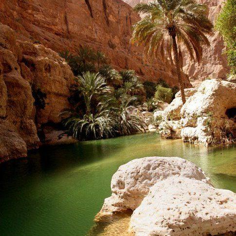 طبیعت زیبای عمان