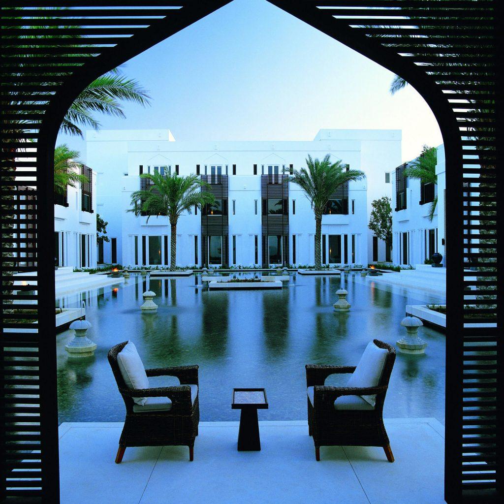هتل چدی مسقط از هتلهای لوکس عمان
