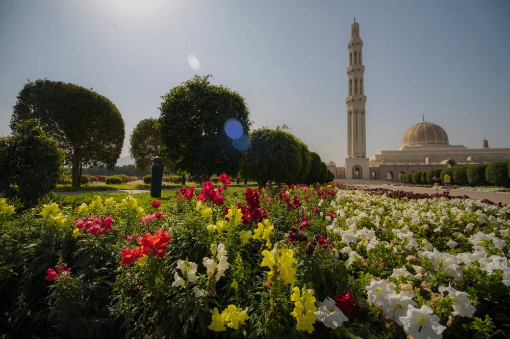 نمای بیرونی مسجد سلطان قابوس عمان