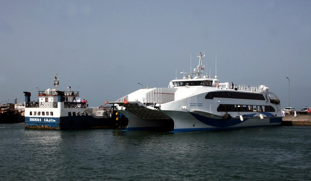 قایقهای تفریحی جزیره مصیره عمان