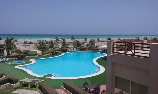 ریزورت هتل در جزیره مصیره عمان