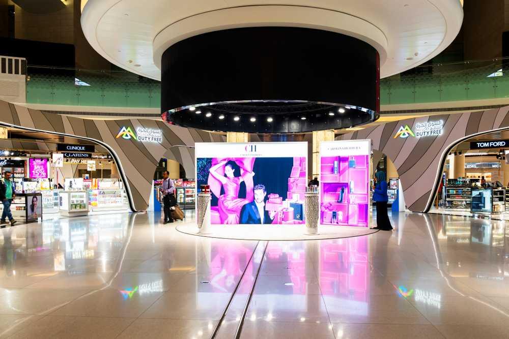 نمای درونی یکی از مراکز خرید عمان