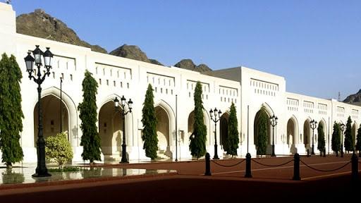 بازدید از کاخ زیبای سلطان قابوس عمان