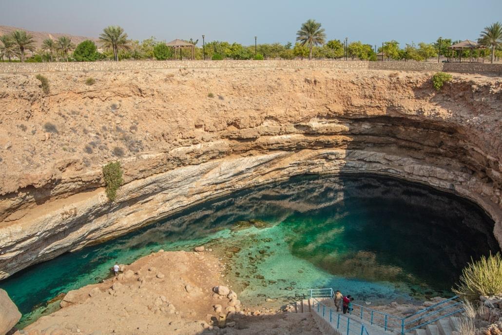 بیماه سینخوله از جاذبههای طبیعی عمان