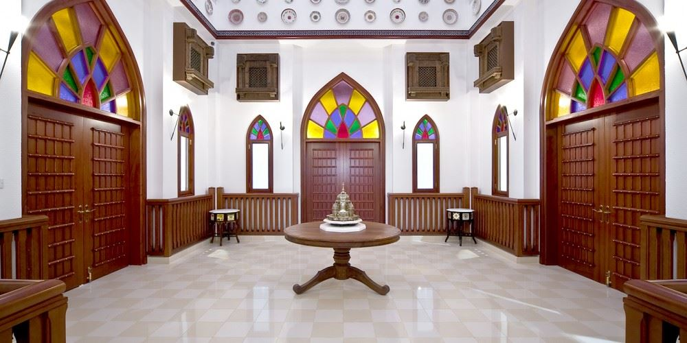 نمای داخلی موزه بیت الزبیر عمان