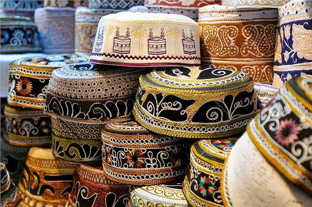 کلاه معروف مردان عمانی