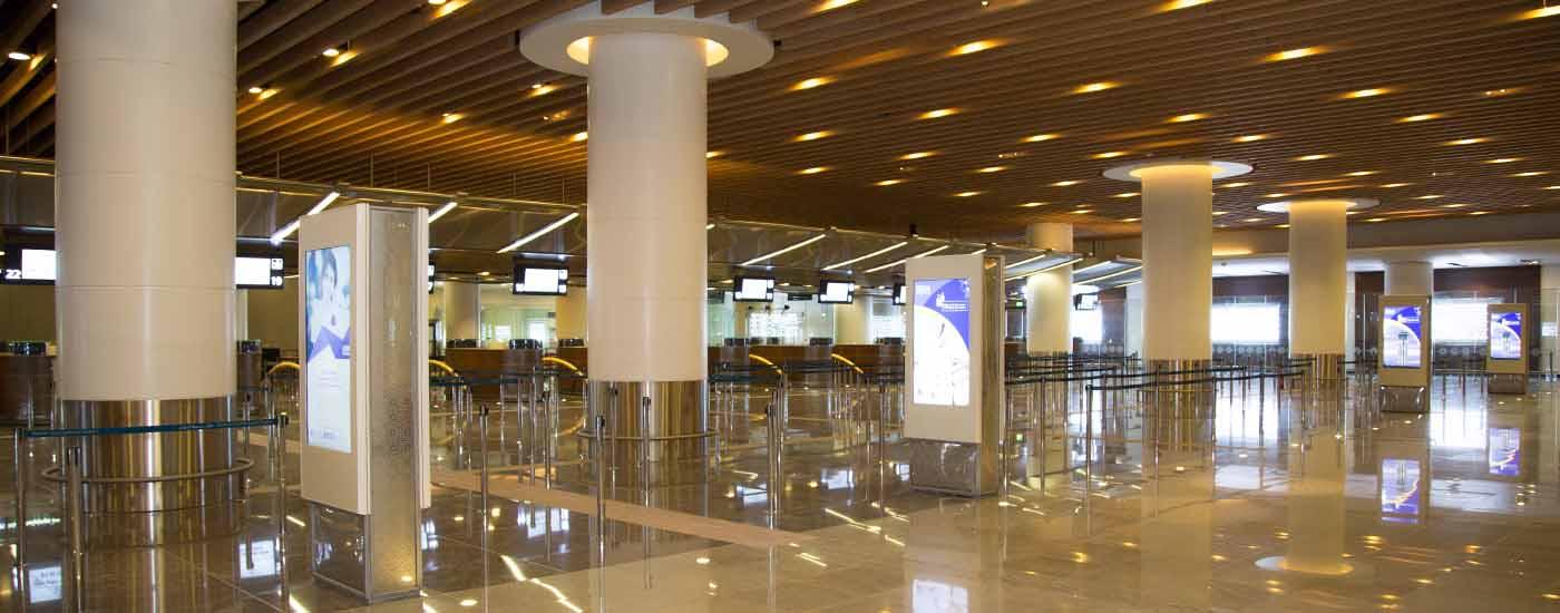 ترمینال جدید فرودگاه مسقط عمان و دستورالعملهای بهداشتی در ایام سفر در شرایط کرونا