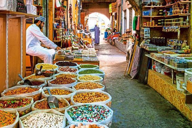 بازارهای سنتی مسقط در تور عمان