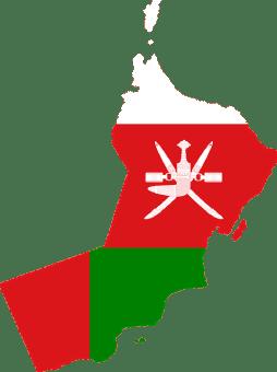 نقشه کشور عمان