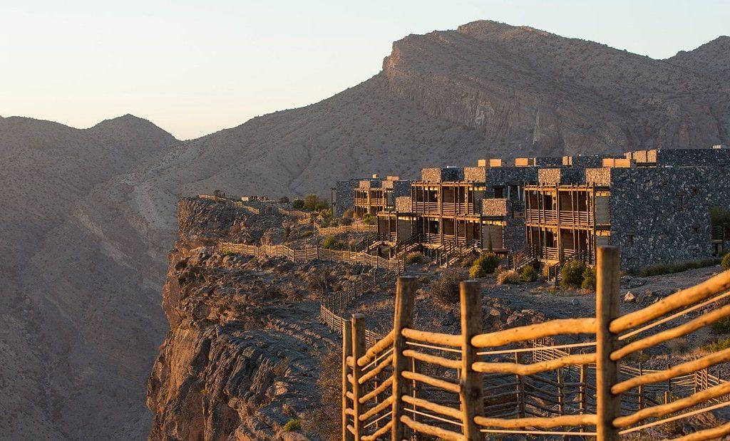 نمای بیرونی هتل آلیلای جبل الاخضر عمان