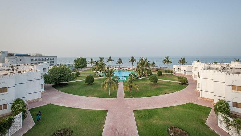 ساحل زیبای بندر صحار عمان