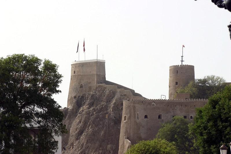بازدید از قلعه های زیبای شهر مسقط جلالی میرانی