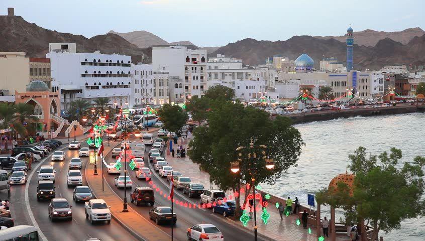 نمایی زیبا از شهر مسقط پایتخت عمان