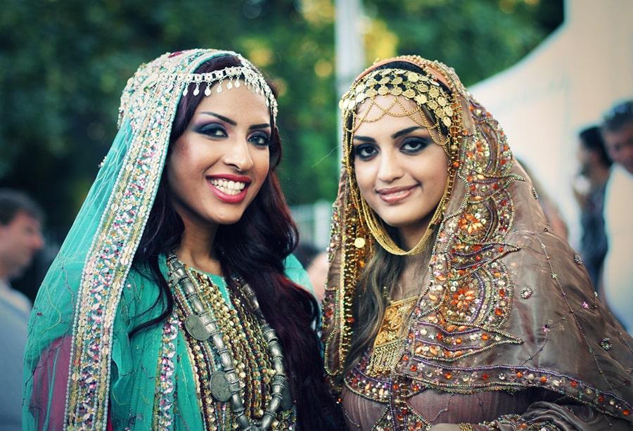 پوشش زنان عمانی