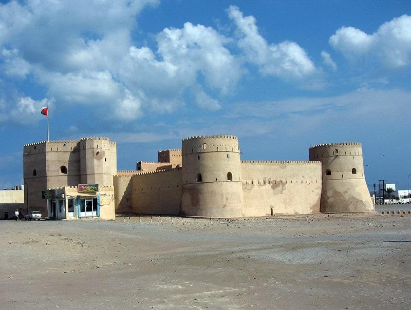 قلعه بارکا عمان از قلعه های تاریخی عمان