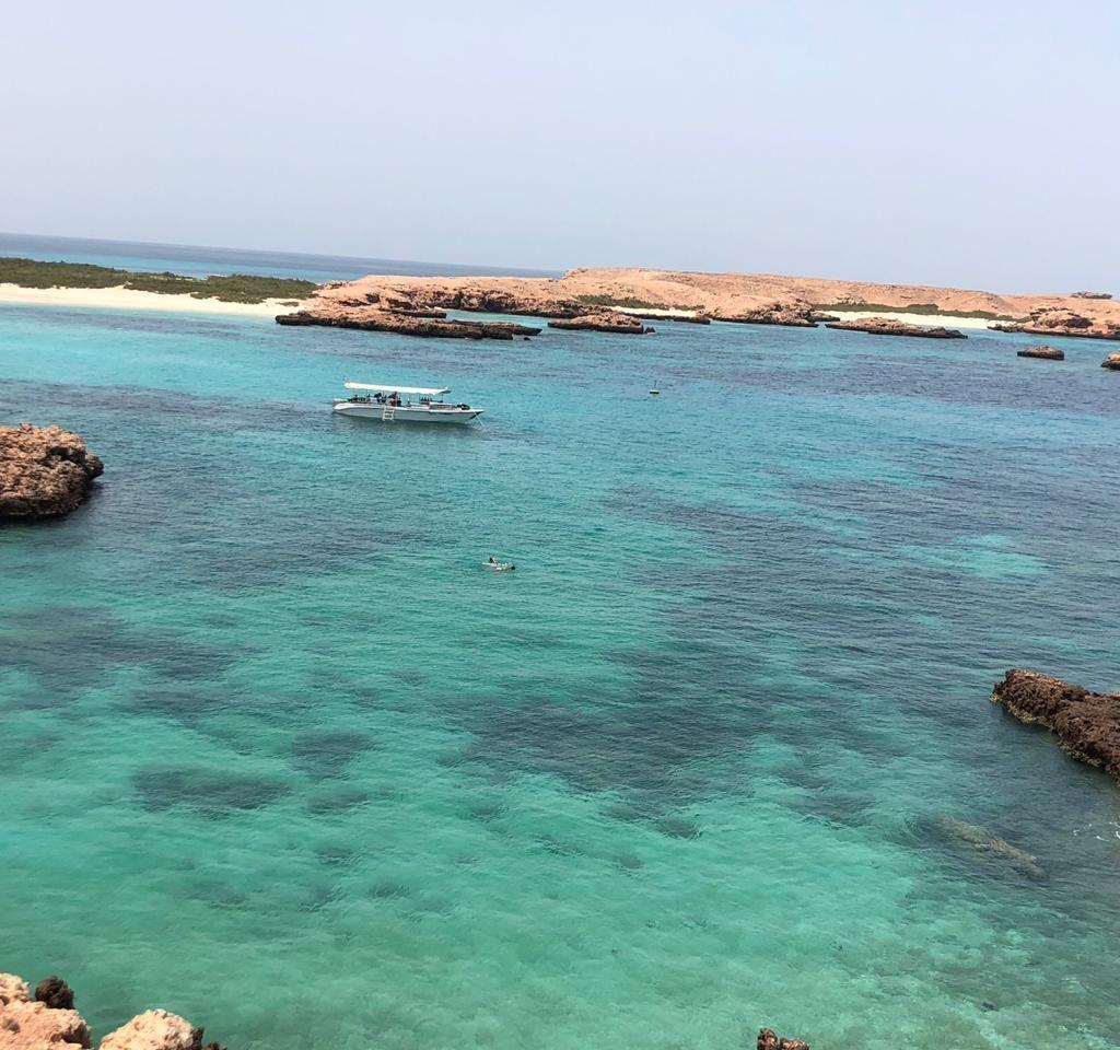 جزایر دیمانیات عمان و زیبایهای ان