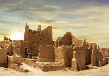 نمایی از شهر توسعه یافته دیریه عربستان