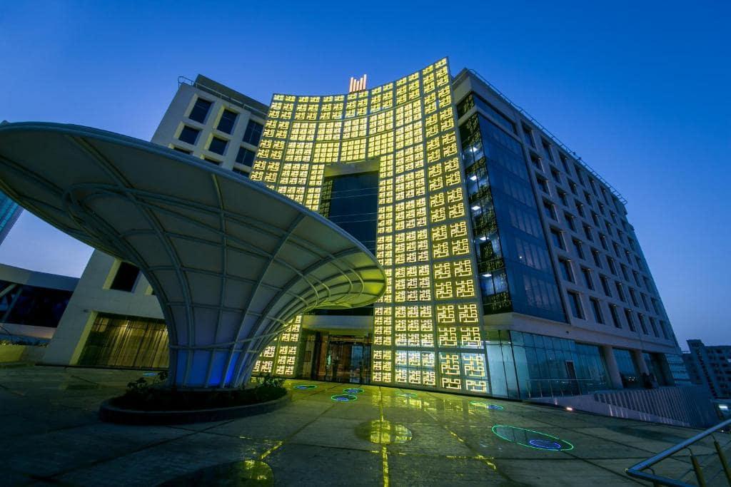 نمایی از هتل گرند میلینیوم مسقط