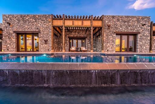 نمایی از هتل آلیلا جبل الاخضر عمان یکی از بهترین هتلهای عمان