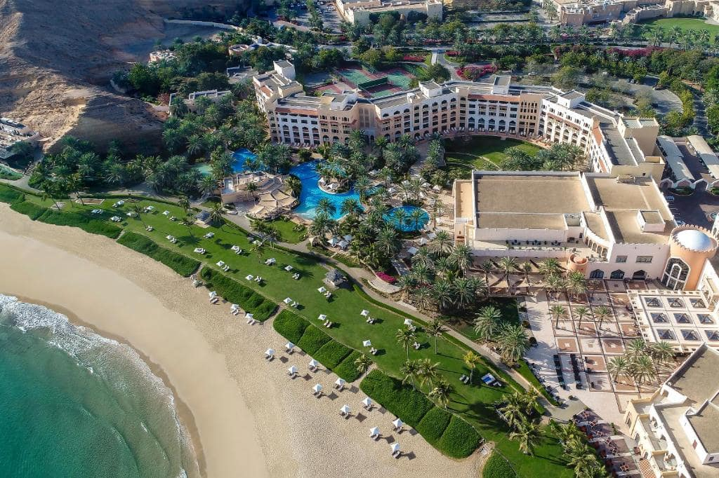 هتل شانگریلا برالجیس مسقط عمان